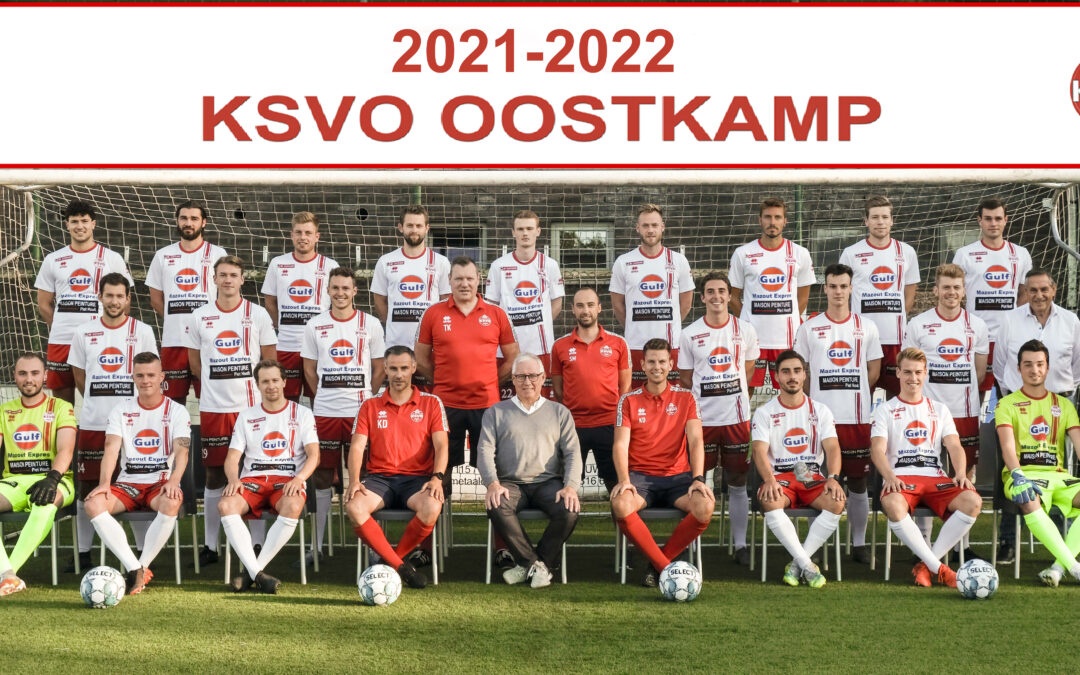 Ploegfoto's seizoen 2021-2022